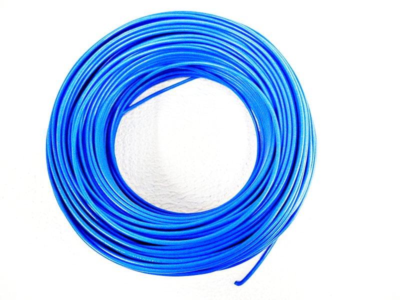 CABO FLEXÍVEL 1,50mm² 70°C 450/750V 100 MTS - AZUL