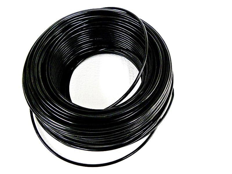 CABO FLEXÍVEL 1,50mm² 70°C 450/750V 100 MTS - PRETO