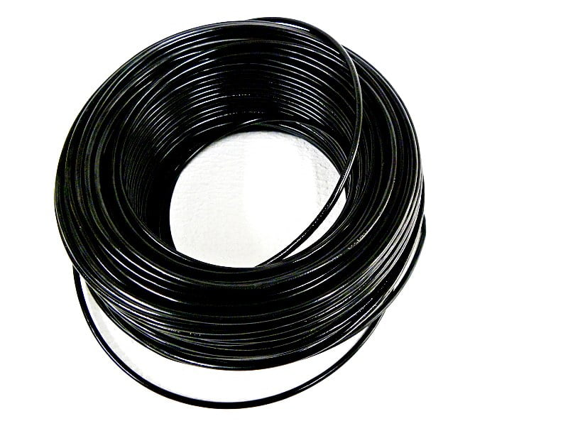 CABO FLEXÍVEL 2,50mm² 70°C 450/750V 25 MTS - PRETO