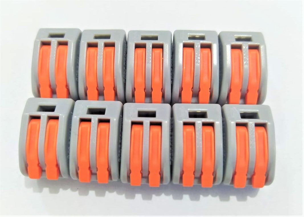 KIT 10 CONECTORES DE EMENDA 2 FIOS - SKY MASTER