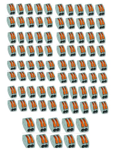 KIT CONECTOR DE EMENDA  2 FIOS - 90 PEÇAS