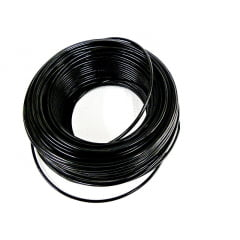 CABO FLEXÍVEL 4,00mm² 70°C 450/750V 100 MTS - PRETO