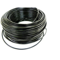 CABO FLEXÍVEL 6,00mm² 70°C 450/750V 100 MTS - PRETO