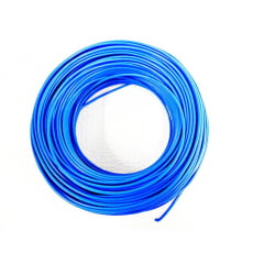 CABO FLEXÍVEL 4,00mm² 70°C 450/750V 100 MTS - AZUL