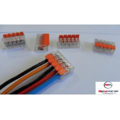 10 CONECTORES DE EMENDA 5 FIOS - SKY MASTER