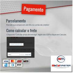 CABO ALARME DE INCÊNDIO 2x1,50 200 METROS - SKY MASTER